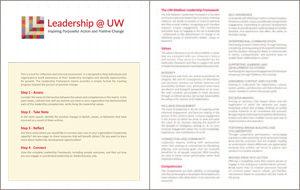 Image of Leadership @ UW worksheet