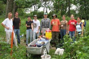 Image of UW-Madison Arboretum Earth Partnership Restoration Team