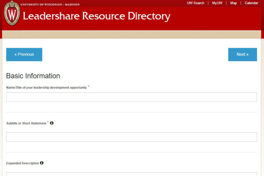 Leadershare Submission Form
